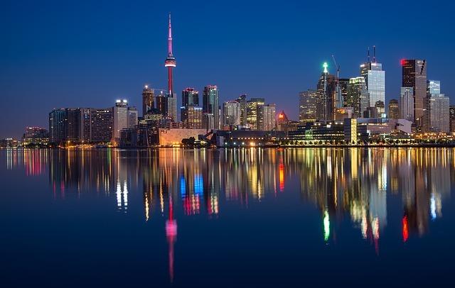 토론토 야경, Pixabay