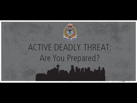 건물 내에서 총격이 발생하면 어떻게 대처할까?