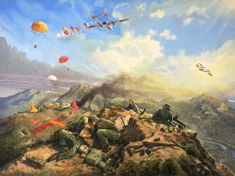 중국계 캐나다 단체장, 한국전쟁 관련 역사왜곡 및 중공군 미화 holding kapyong lrg
