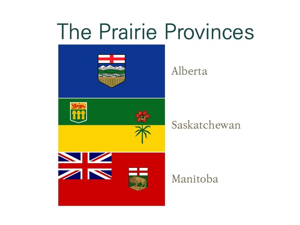[지리] 프레이리 주들(The Prairie Provinces) The Prairie Provinces