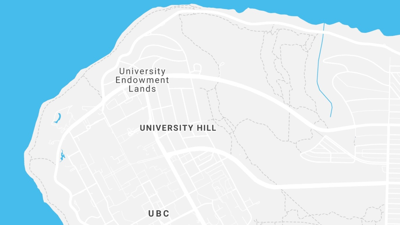 UEL 지도 일부