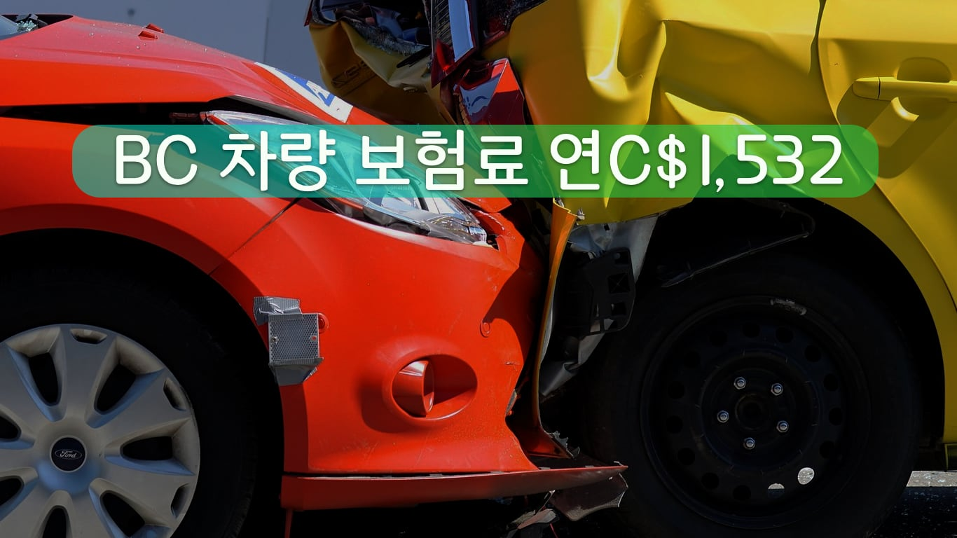 BC 자동차 보험료