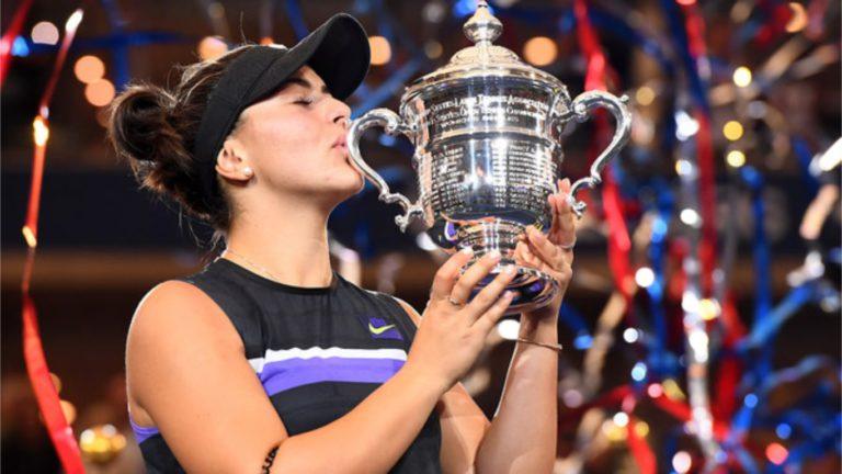 캐나다인의 사랑받는, 새로운 테니스의 여제 등장
