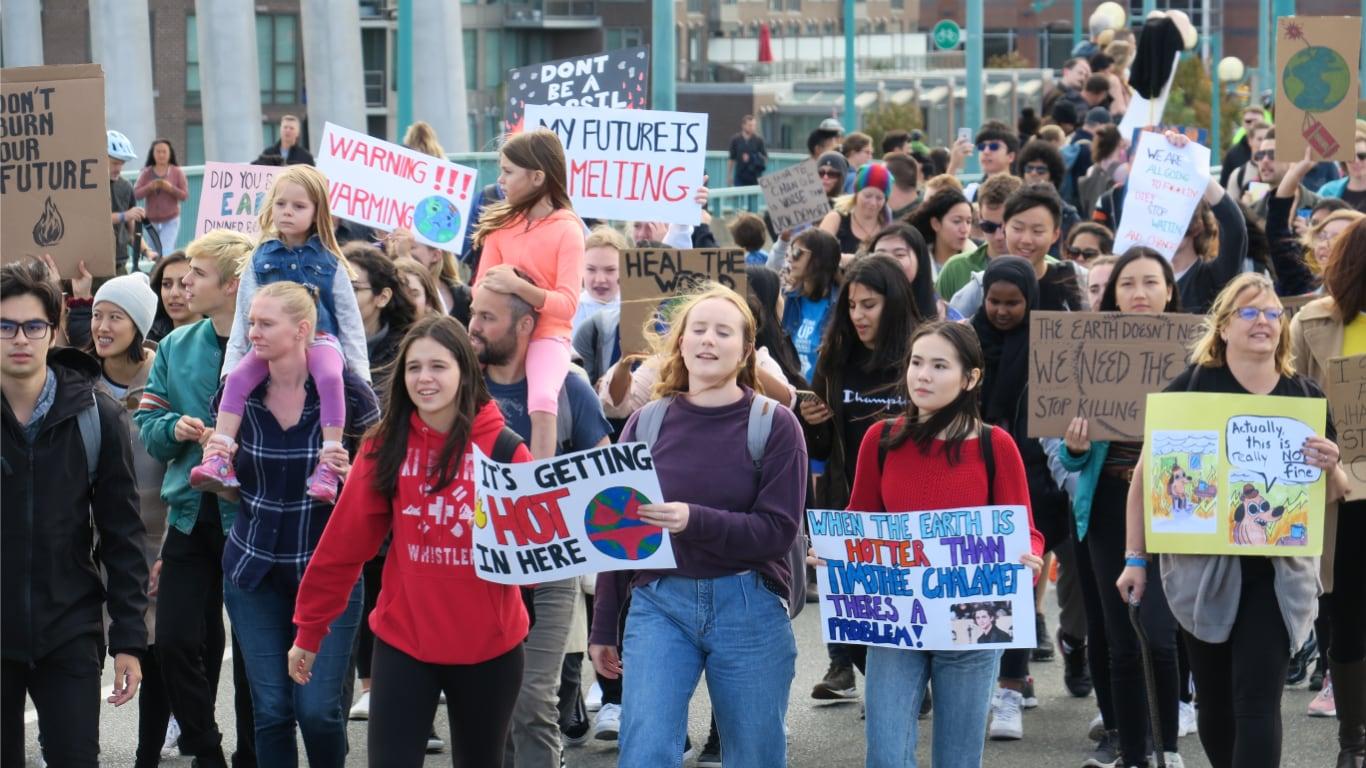 세계 환경 파업의 날, 밴쿠버