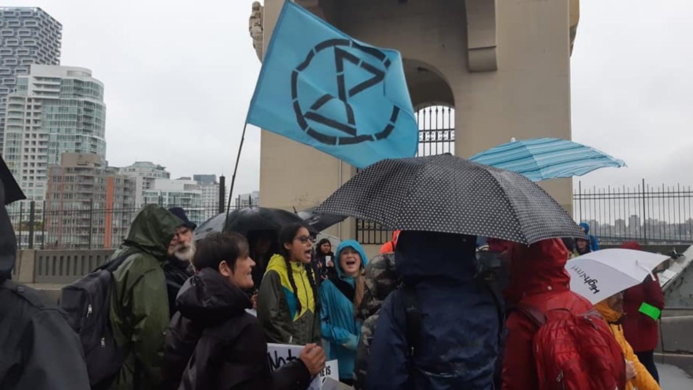 환경단체 시위