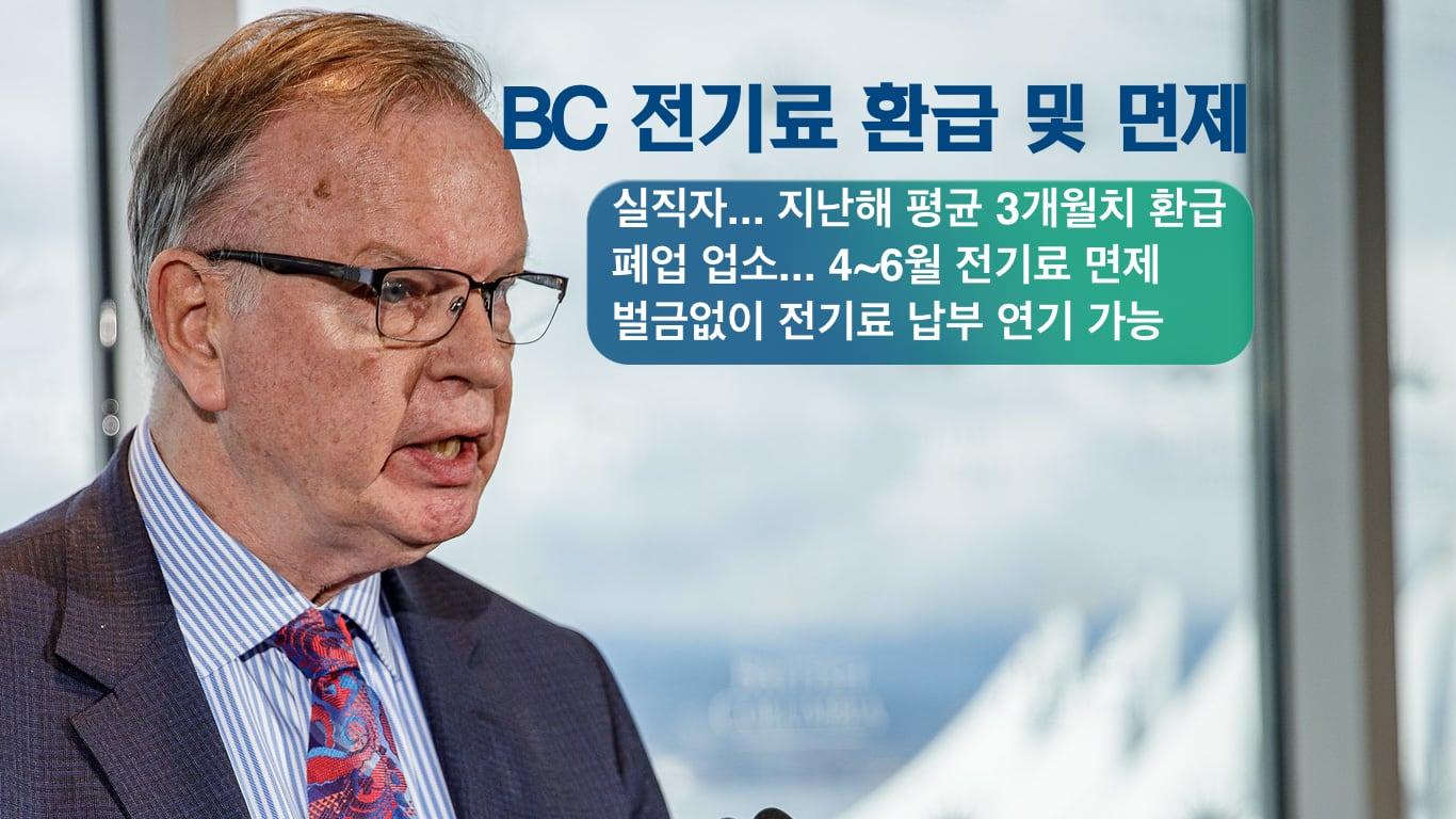 브루스 랄스턴 BC 에너지 장관