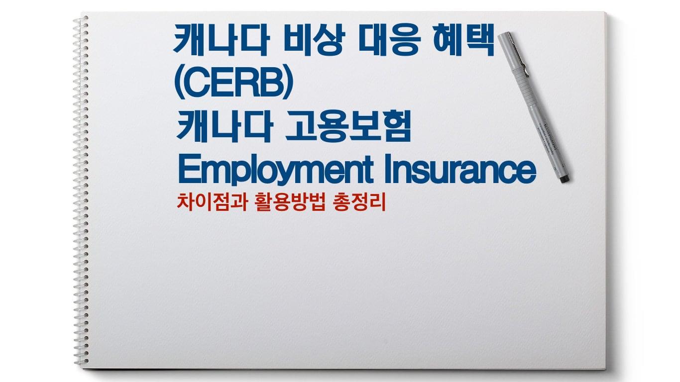 CERB와 고용보험 차이점 알고 활용하자 06 ei CERB T