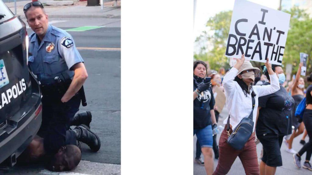 조지 플로이드 사건에 밴쿠버에서도 항의시위 01 minn