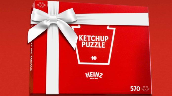 하인즈 캐나다 케첩 퍼즐