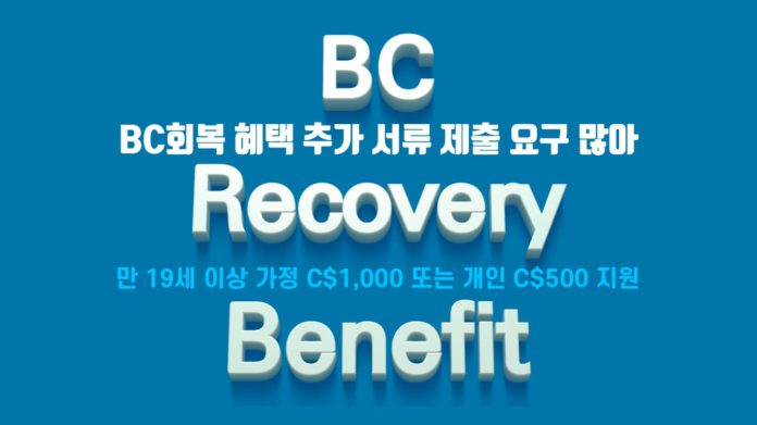 BC Recovery Benefit