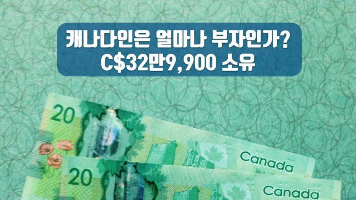 캐나다 가계 순자산