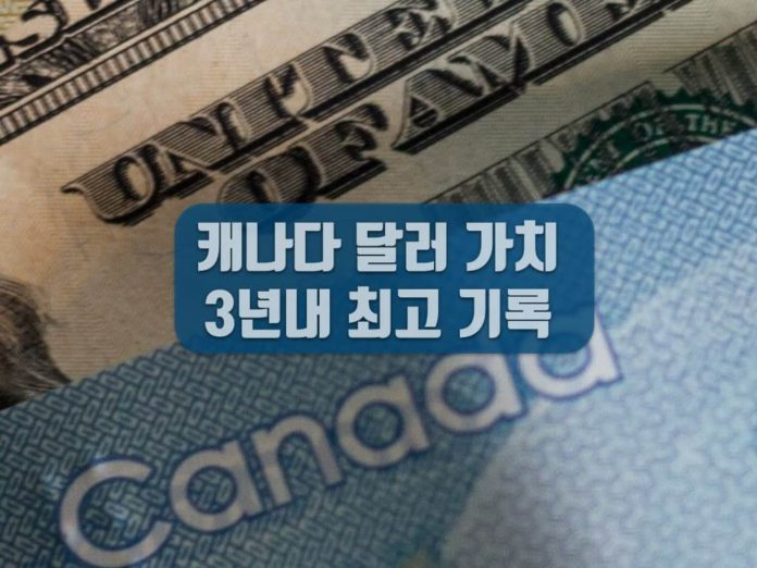 캐나다 달러 환율