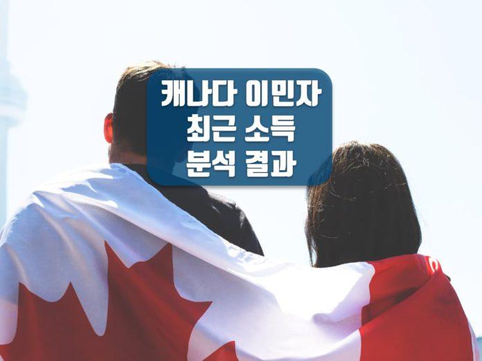 캐나다 이민자 소득