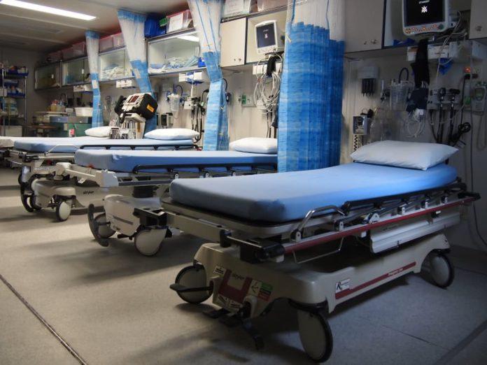 캐나다 병원 병상