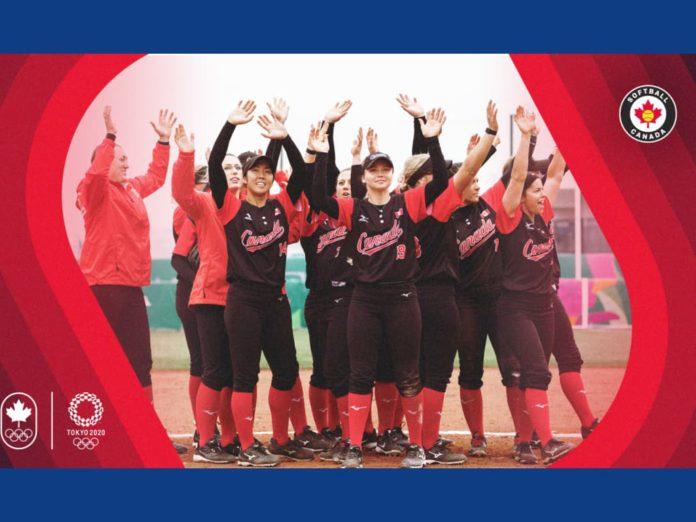 2020년 캐나다 올림픽팀, 여자 소프트볼 선수단