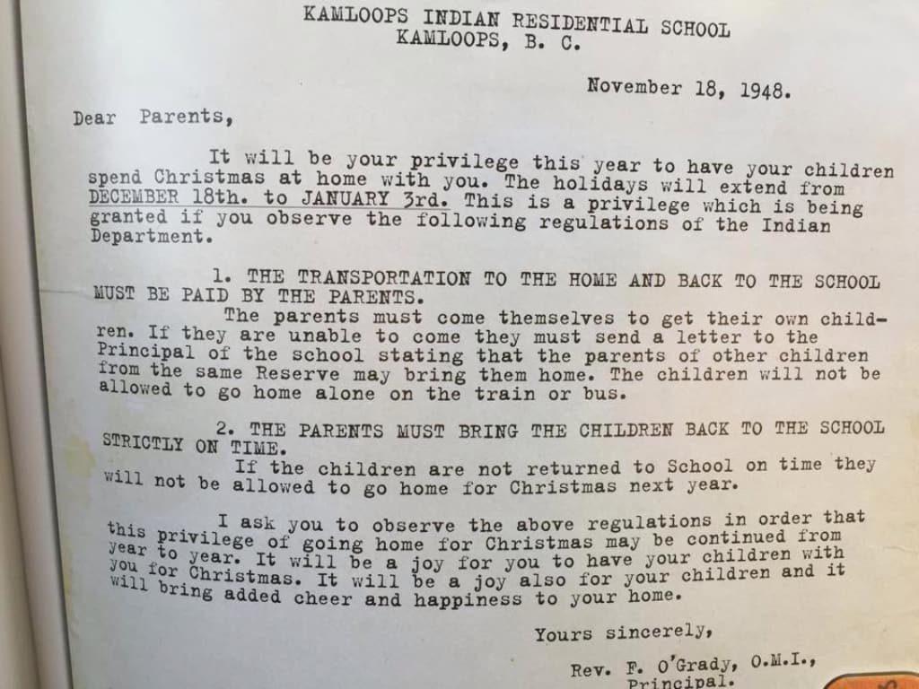 UBC, 캠룹스 원주민 기숙학교 관련 존 오그래디 주교 명예학위 재검토 kr 210603 2