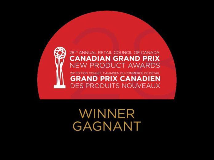 캐나다 신제품 그랑프리상 로고