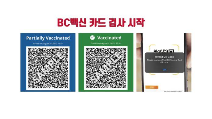 백신 접종 검사