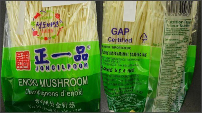 한국산 팽이버섯